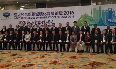 Thứ trưởng Phan Thị Mỹ Linh dẫn đầu đoàn Việt Nam dự Diễn đàn Đô thị hóa cấp cao APEC 2016