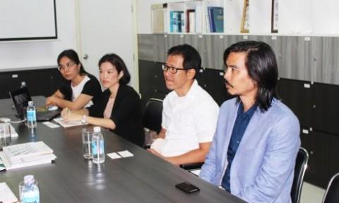 Tiếp đoàn Trường Kiến trúc và Thiết kế Montfort del Sario (Thái Lan)