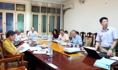 Nghiệm thu Dự thảo Tiêu chuẩn và Chỉ dẫn kỹ thuật của Viện Vật liệu Xây dựng