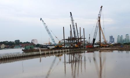 Gần 1.000 tỷ đồng đầu tư dự án Bờ tả sông Sài Gòn