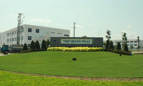 VSIP góp phần thực hiện chiến lược tăng trưởng xanh của Quảng Ngãi
