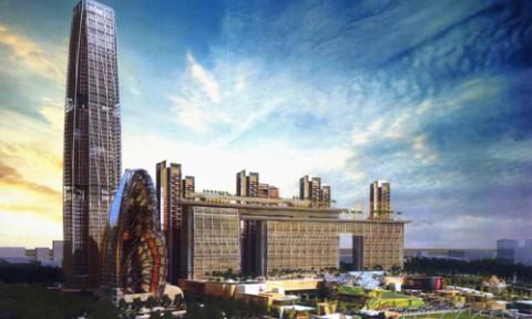 Những dự án tháp cao tầng tỷ đô ở Thủ Thiêm