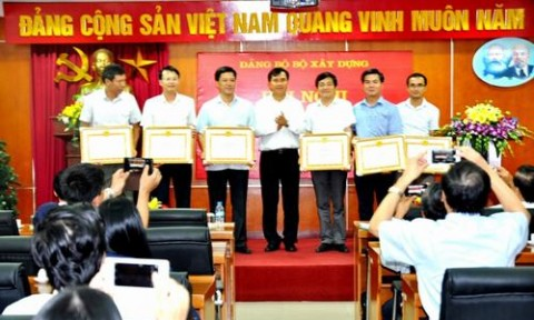 Đảng ủy Bộ Xây dựng triển khai nhiệm vụ trọng tâm 6 tháng cuối năm