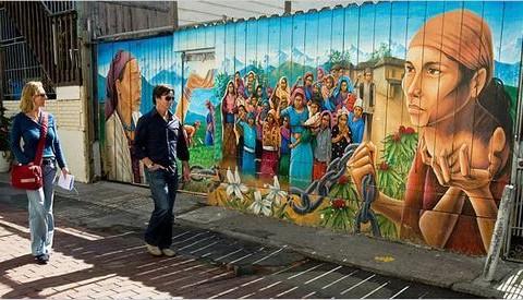 Những sáng tạo bất tận của nghệ thuật đường phố