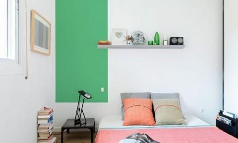 Căn hộ đa màu sắc cho gia đình hiện đại tại Barcelona