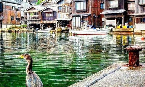 Kiến trúc độc đáo của làng Ine No Funaya, Nhật Bản
