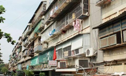 Hà Nội đã xong kế hoạch cải tạo chung cư cũ