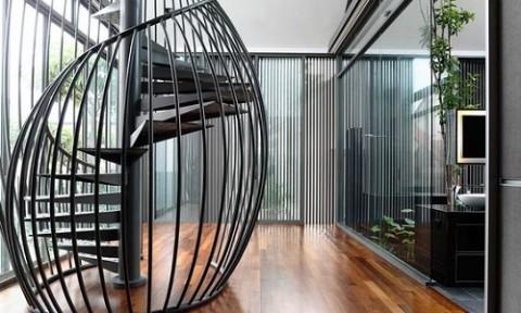 Độc đáo với thiết kế cầu thang có một không hai