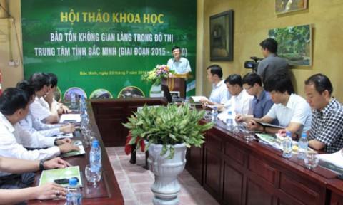 Bắc Ninh: Bảo tồn không gian làng trong đô thị