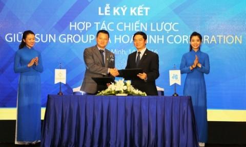 Tập đoàn Sun Group hợp tác chiến lược với Hòa Bình Corp