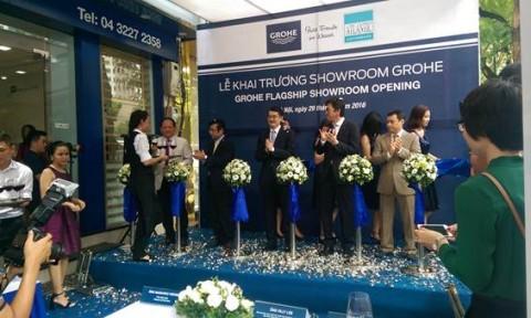 Lixil Việt Nam giới thiệu thương hiệu Grohe và khai trương showroom tại Hà Nội