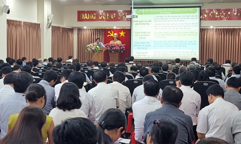 Đảng ủy Khối cơ sở Bộ Xây dựng quán triệt Nghị quyết Đại hội XII của Đảng