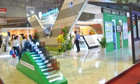Dấu ấn công nghệ Kính tiết kiệm năng lượng Viglacera tại Vietbuild Tp Hồ Chí Minh
