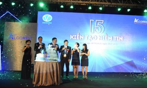 Công ty CP Nhôm Việt Dũng: 15 năm kiến tạo niềm tin