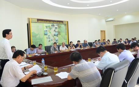 Thứ trưởng Bộ Xây dựng Nguyễn Đình Toàn làm việc với Viện Kiến trúc Quốc gia