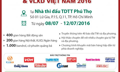 Hội chợ Bất động sản và Vật liệu xây dựng Việt Nam (VietHome Expo) 2016