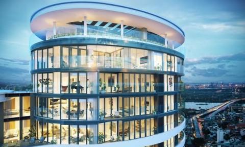 City Garden sắp ra mắt Sky Residences – chuỗi căn hộ cao cấp nằm trên những tầng cao nhất của  tòa tháp Promenade