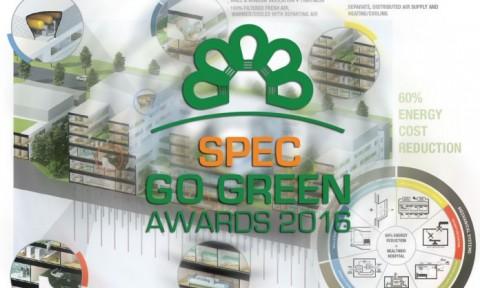 Spec Go Green 2016: thông báo thể lệ và tiêu chí giải