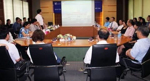Hội nghị tổng kết Chương trình tiên tiến ngành Thiết kế đô thị