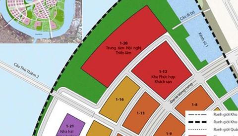 TP HCM xây trung tâm hội nghị hình cánh sen ở Thủ Thiêm