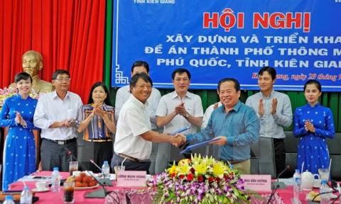 Khởi động đề án xây dựng thành phố thông minh Phú Quốc