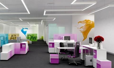 5 cặp phối màu cho phòng làm việc hiện đại