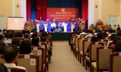 Đại hội VII Công đoàn Cơ quan Bộ Xây dựng