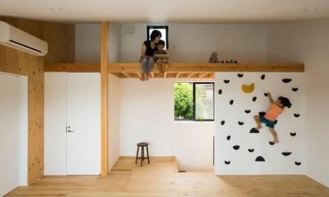 Ngôi nhà theo trường phái tối giản với thiết kế độc đáo