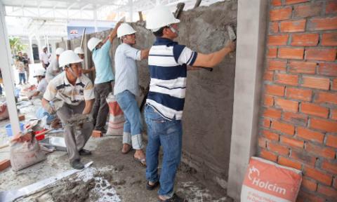 Chọn vật liệu xây phần thô cho ngôi nhà