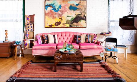 Vui mắt với thiết kế nội thất theo phong cách Bohemian