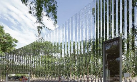 Bảo tàng nghệ thuật với thiết kế ấn tượng từ hàng ngàn tấm gương