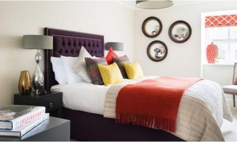 Những gam màu tuyệt đẹp cho phòng ngủ mùa thu