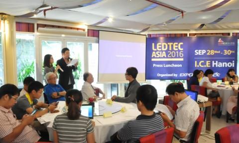 Triển lãm LEDTEC ASIA lần thứ 5 sẽ được tổ chức vào tháng 9/2016
