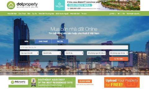 DOT PROPERTY – Cổng thông tin BĐS nóng nhất châu Á đã có mặt tại Việt Nam