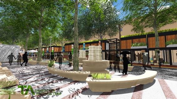 Phương án thiết kế đô thị không gian vỉa hè tuyến Đường sách Nguyễn Văn Bình (Quận 1, TPHCM)