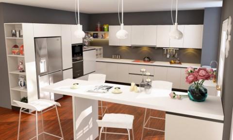 Tủ lạnh mặt thép: Mảnh ghép hoàn hảo cho các căn bếp hiện đại