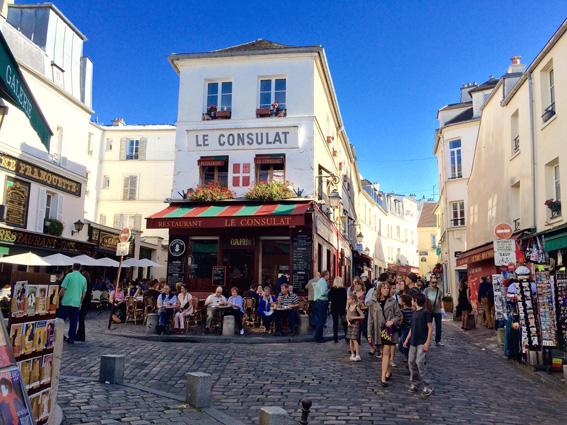 Tổ chức không gian vỉa hè kết hợp thương mại phố Norvin (Paris, Pháp)