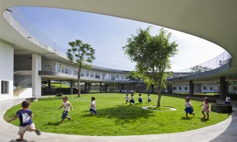 Thực trạng quy hoạch – kiến trúc nhà trẻ, mẫu giáo, trường mầm non ở Việt Nam và kinh nghiệm quốc tế