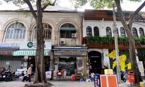 Những nét kiến trúc trăm tuổi trên phố đi bộ Nguyễn Huệ
