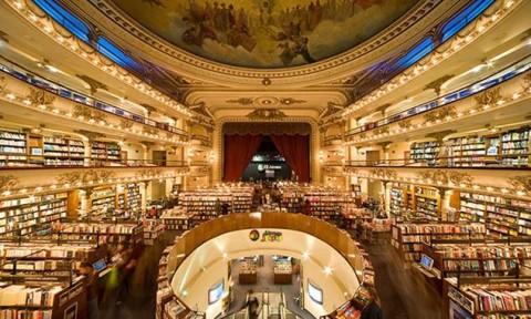 Cận cảnh kiến trúc cửa hàng sách đẹp nhất thế giới