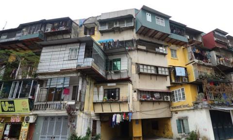 """Cải tạo chung cư cũ: Ngóng cú """"huých"""" mới"""