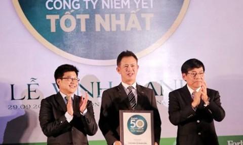 Nam Long lọt Top 50 công ty niêm yết tốt nhất 2016 do Forbes bình chọn