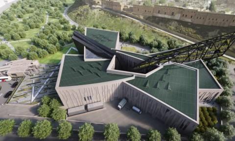 Daniel Libeskind công bố thiết kế bảo tàng Kurdistan ở thành phố Erbil, Iraq