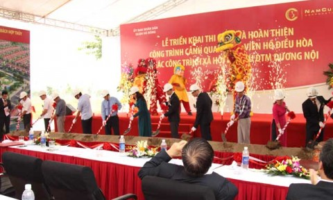 Nam Cường đầu tư 400 tỷ đồng để hoàn thiện khu đô thị mới Dương Nội