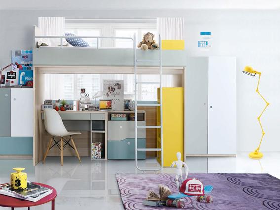 Phòng ngủ trẻ em KIDZIO - Hãng SB, Thái Lan