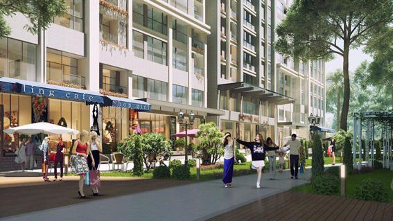 Thiết kế mô hình nhà ở Shop house, KĐTM Time city, Hà Nội