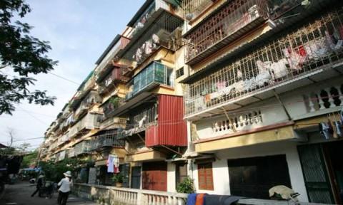 Hà Nội: Cải tạo chung cư cũ giai đoạn 2016 – 2020