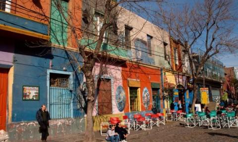 Thành phố sắc màu La Boca, Buenos Aires, Argentina