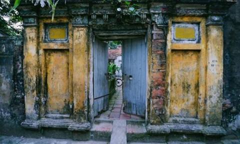 Kiến trúc độc đáo của làng cổ ở ngoại thành Hà Nội