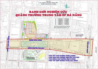 Đà Nẵng: Thi tuyển thiết kế quy hoạch, kiến trúc Quảng trường trung tâm